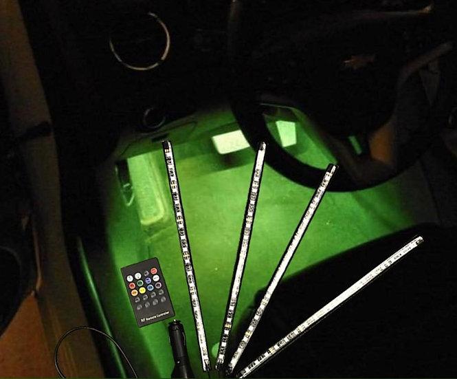 RGB Plug & Play Footwell Lighting Kit