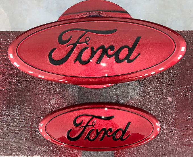 '04-'14 F-150 Grille & Tailgate Emblem Package