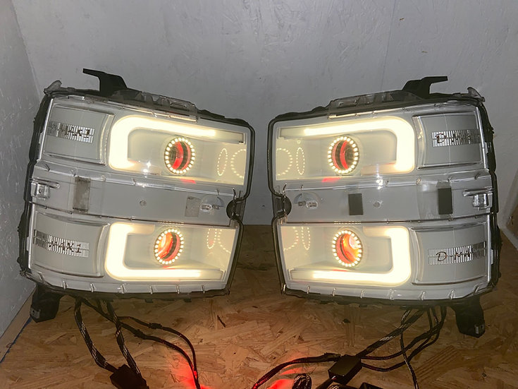 LOADED '15-'19 Chevy Silverado Headlights