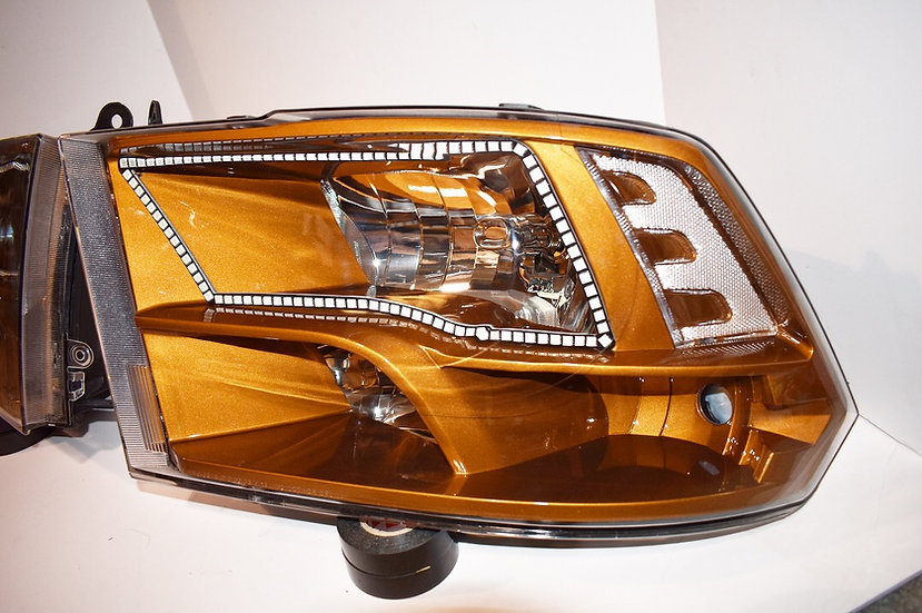 '09-'18 Dodge Ram 1500-3500 Headlights