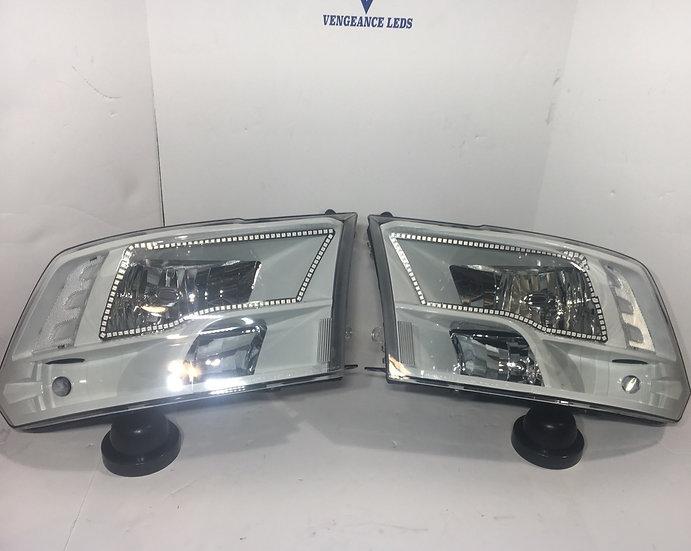 '09-'18 Ram 1500-3500 Headlights