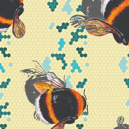Bee Design Fabric