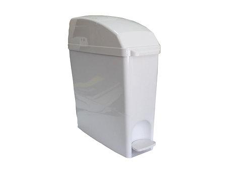 Pedal Sanitary Disposal Bin -White