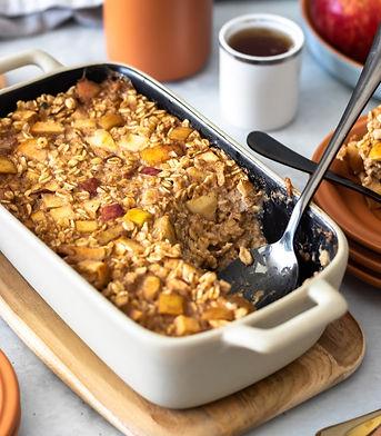 Mingau de aveia assado (Porridge)