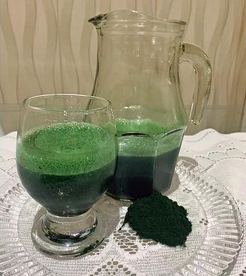 Suco Verde com Spirulina