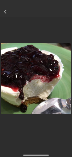cheesecake ai frutti di bosco #osteriadarbruttone