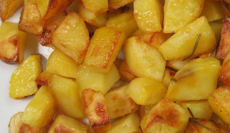 patate di Viterbo al forno #osteriadarbruttone
