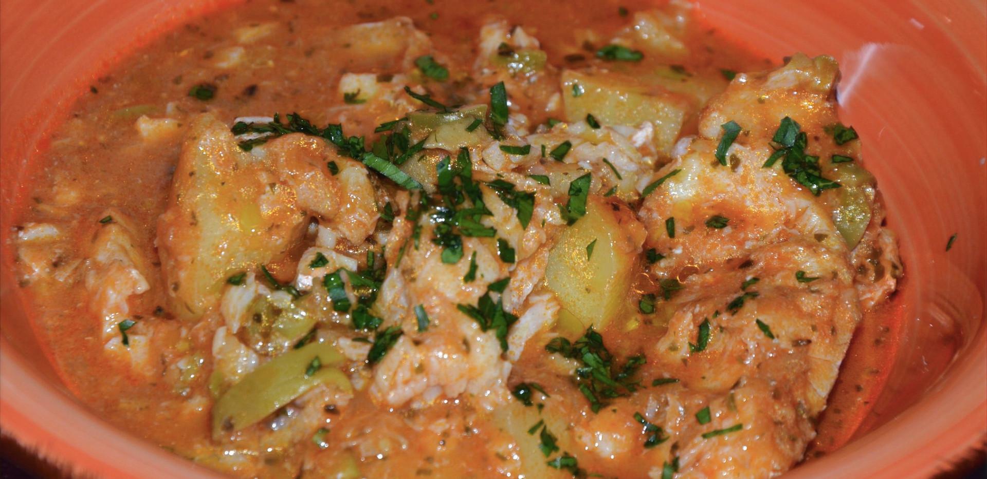 baccalà in umido con le patate #osteriadarbruttone