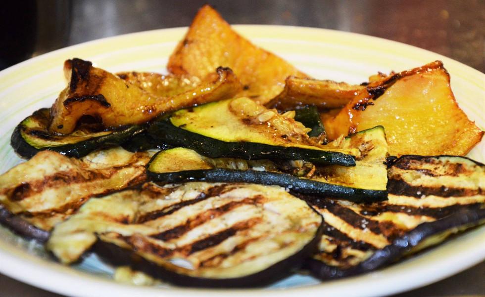 verdure grigliate #osteriadarbruttone