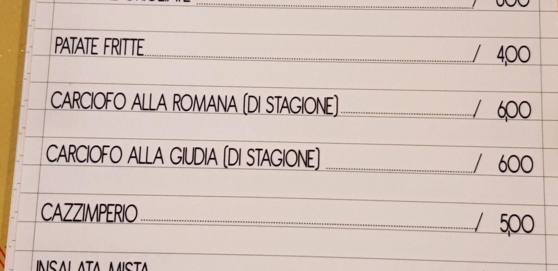 menu #osteriadarbruttone