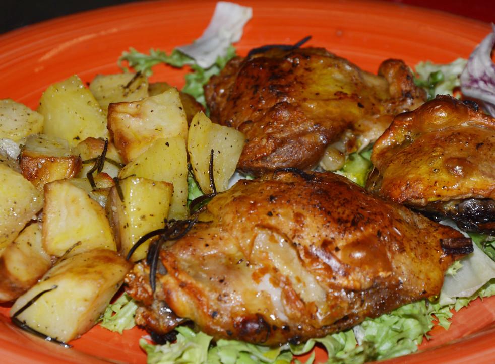 abbacchio della Sabina al forno con patate  #osteriadarbruttone