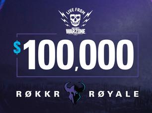 Rokkr Royale Warzone: Como assistir ao torneio de $100ka ao vivo: Transmissão e programação