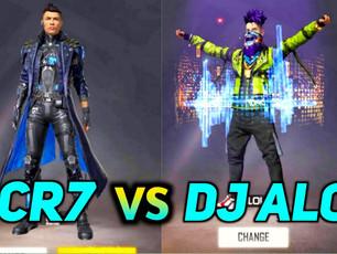 Free Fire: DJ Alok vs CR7's Chrono - Quem é o melhor personagem de Free Fire?