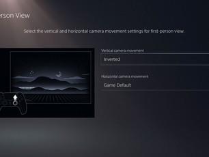 PS5: como inverter os controles de movimento da câmera no PS5 por meio das configurações do sistema