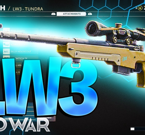 Call of Duty Black Ops Cold War: carregamento do rifle Lw3