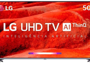 "Review e Análise da Smart TV LED PRO 50"" Ultra HD 4K LG 50UM751C0SB, ThinQ AI, 4 HDMI, 2 USB, Wi-Fi"