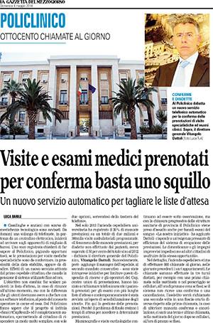News Policlinico di Bari