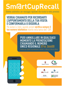 Locandina CUP recall regione Umbria