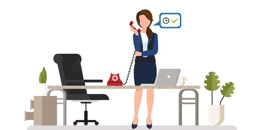 Timbratura virtuale telefonica su telefono fisso