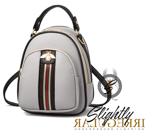 63e11ae859bc The mini bee backpack isn't just a Backpack. Its adjustable straps allows  you to wear it as a crossbody or shoulder bag as well. Fast shipping 3-5  business ...