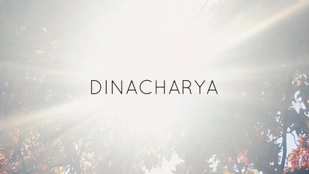 """Implementing Dinacharya aka """"Daily Routine"""""""