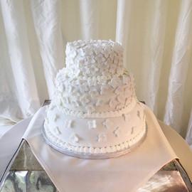 Tom & Sarah's Wedding Cake