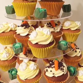 Carrot & Lemon Meringue Cupcakes
