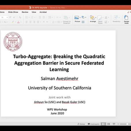 Keynote on Federated Learning!