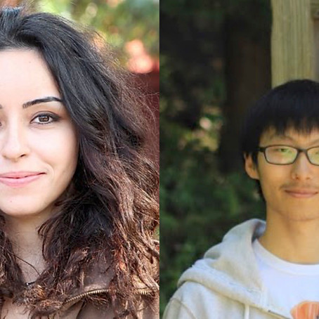 Congratulations to Basak Guler and Qian Yu!