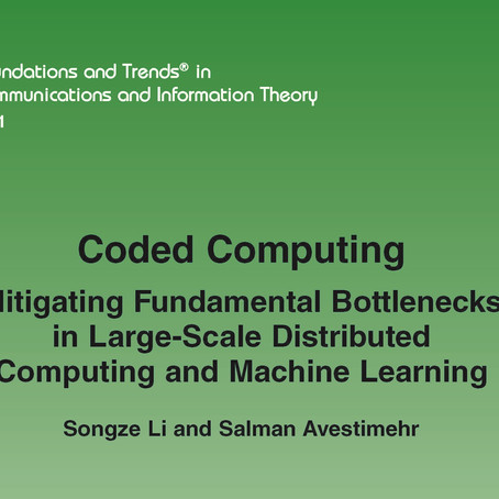 Monograph on Coded Computing!