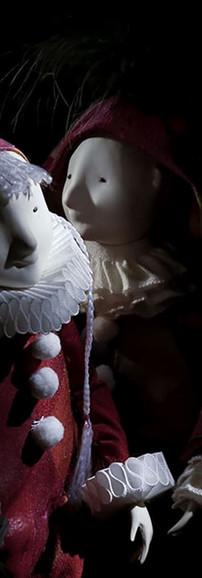 Harlequins. Porcelain Story by Inga Ivashchenko