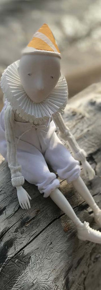 a Princess coming... Porcelain Story by Inga Ivashchenko