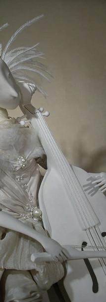 Viola.Porcelain Story by Inga Ivashchenko