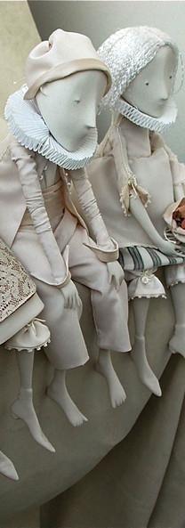 Happy Pierrot by Inga IvashchenkoHappy Pierrot.Porcelain Story by Inga Ivashchenko