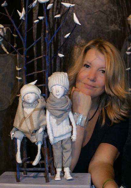 Porcelain Art Doll by Inga Ivashchenko.j