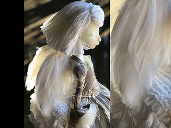 Intro Angel porcelain story by Inga Ivas