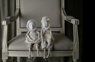 Happy Pierrot porcelain story by Inga iv