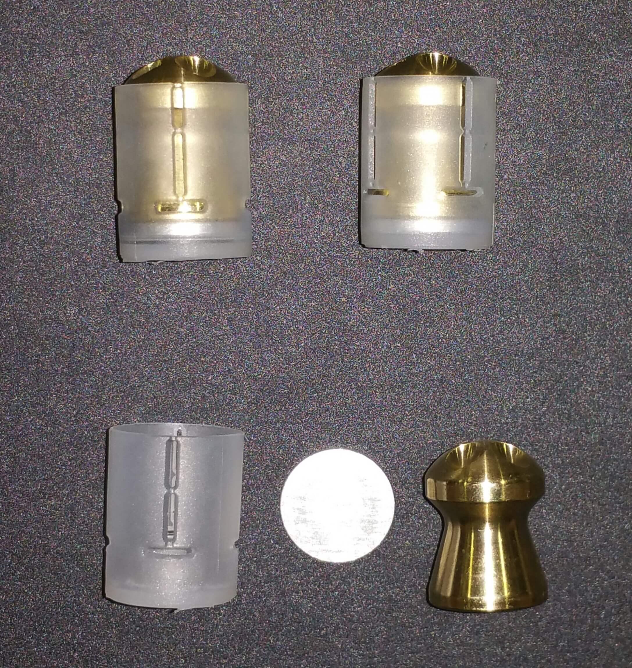 Ballistic Machinist Brass Pellets