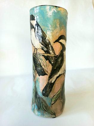 Swallow vase