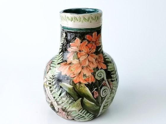Small ceramic flower pot