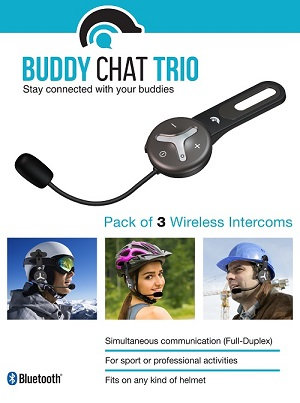 Buddy Chat (Trio Package) Set 3 of ea