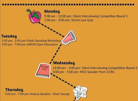 Pro Bono Week Events