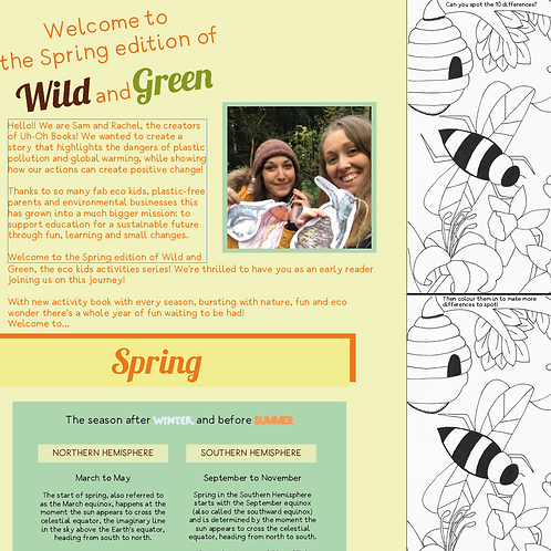 Wild and Green Spring