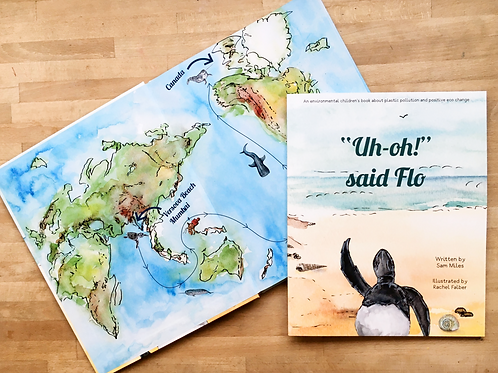 """Uh-Oh!"" Said Flo Story Book"