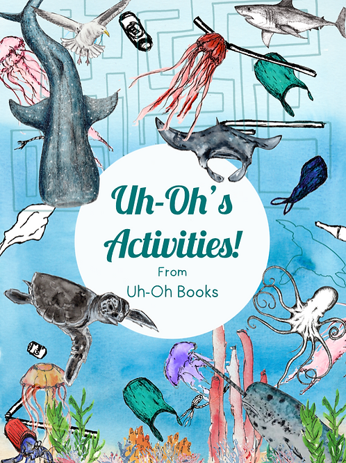 Uh-Oh! Activity Book (Pre-Order only!)