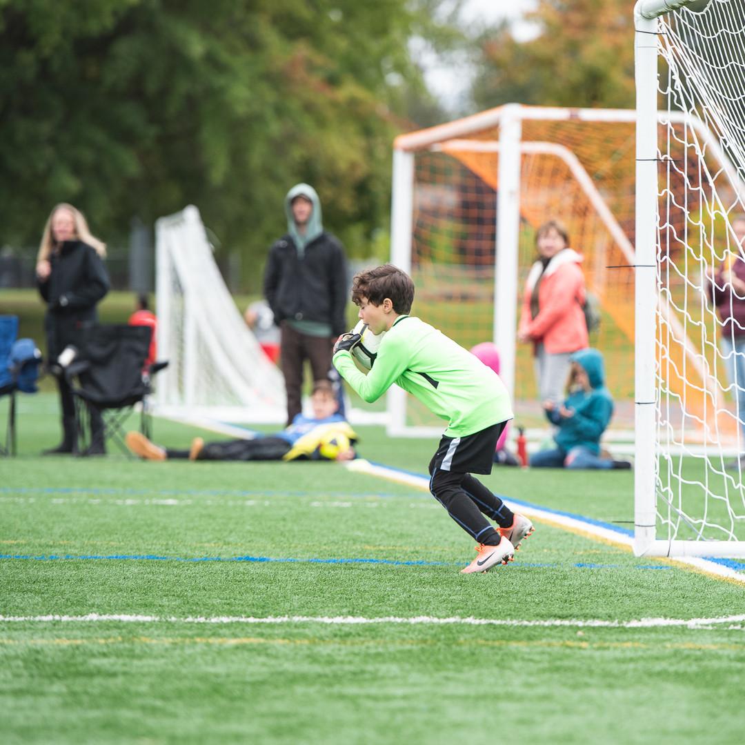 PCU Goalkepper Training