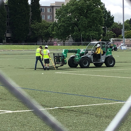 We're Getting New Turf!