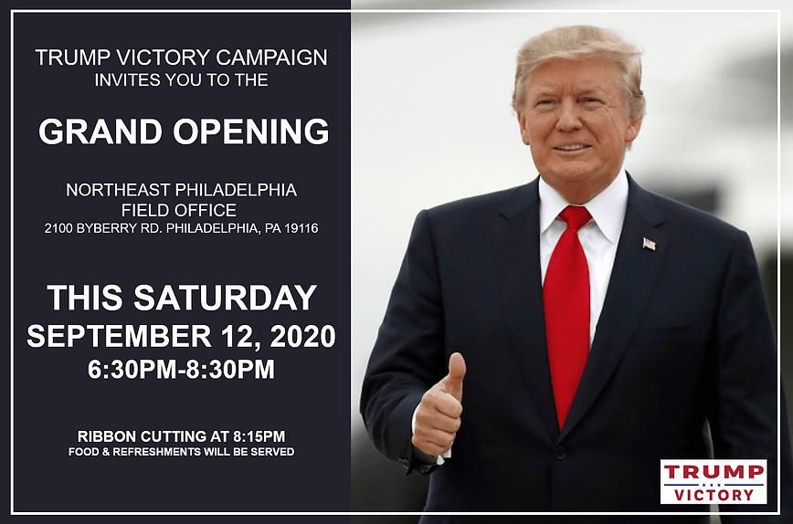 Trump Victory Invite NE Philly Office.pn