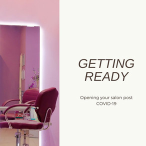 Getting Ready: Opening Your Salon Post COVID-19
