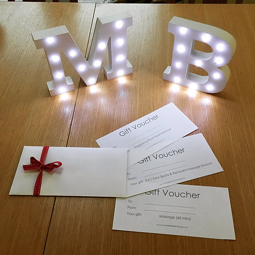 Gift Voucher £75 - 90 mins treatment